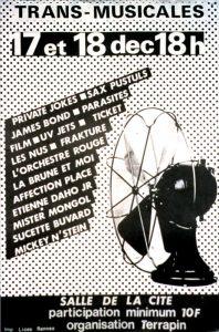 Affiche Trans Musicales 1980 - lien vers la page de l'édition