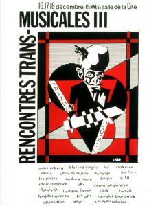 Affiche Trans Musicales 1981 - lien vers la page de l'édition
