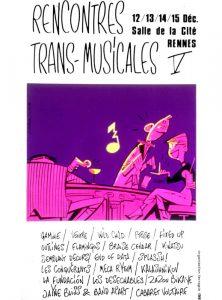 Affiche Trans Musicales 1983 - lien vers la page de l'édition