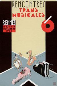 Affiche Trans Musicales 1984 - lien vers la page de l'édition