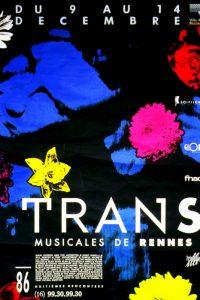 Affiche Trans Musicales 1986 - lien vers la page de l'édition