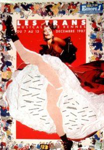 Affiche Trans Musicales 1987 - lien vers la page de l'édition