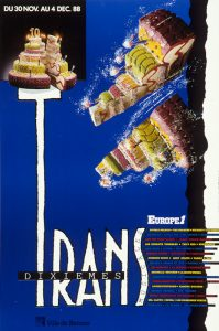 Affiche Trans Musicales 1988 - lien vers la page de l'édition