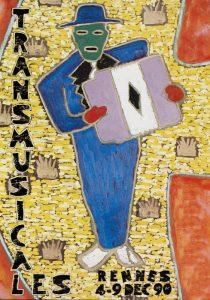 Affiche Trans Musicales 1990 - lien vers la page de l'édition