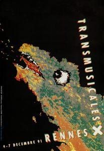 Affiche Trans Musicales 1991 - lien vers la page de l'édition