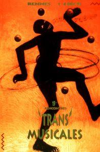 Affiche Trans Musicales 1993 - lien vers la page de l'édition