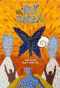 Affiche Trans Musicales 1996 - lien vers la page de l'édition