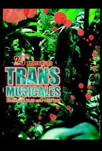 Affiche Trans Musicales 2001 - lien vers la page de l'édition