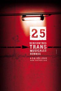 Affiche Trans Musicales 2003 - lien vers la page de l'édition