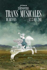 Affiche Trans Musicales 2011 - lien vers la page de l'édition
