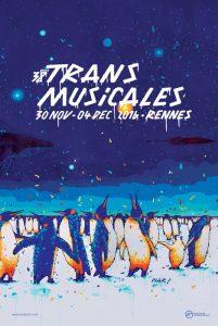 Affiche Trans Musicales 2016 - lien vers la page de l'édition