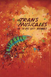 Affiche Trans Musicales 2017 - lien vers la page de l'édition